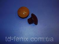 Ручка - кнопка 303 орех темный