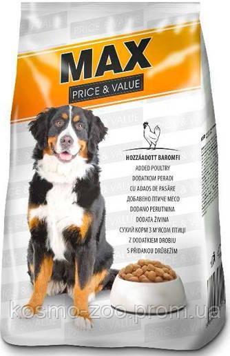 Полноценный сухой корм для собак Макс (Dax Max), 10 кг