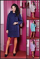 44-62 размеры Красивое женское демисезонное пальто Мио батал,большого размера теплое шерстяное свободное