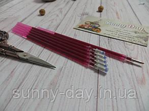 Стержень для разметки канвы розовый, 0,7мм