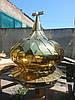 Купол православный с напылением нитрид итана