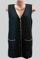 Женский кардиган-жилетка большого размера 1008\5