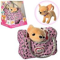 Игрушка для девочки Интерактивная собачка Chi-Chi Love(M3482UA )23см, в сумке, укр.язык, муз., на батар., в
