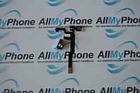 Шлейф для мобильного телефона Apple iPhone 4S кнопок звука / коннектора наушников с компонентами белый