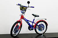 """Велосипед 2-х колесный 20"""", со звонком и зеркалом, без дополнительных колес, 172006"""