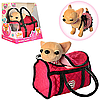 Игрушка для девочки Интерактивная собачка Chi-Chi Love (M1621UA) 23см, в сумке, коврик, укр.язык, муз., на ба