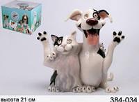 """Фигурка Lefard """"Собака и Кот Джек и Джили"""" 384-034"""