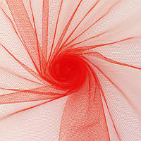 Фатин красный средней жесткости 160 см