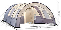 Большая туристическая палатка Relax