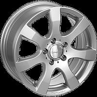 "Диски от Tomason ( Томасон ) модель TN3F цвет Silver painted параметры 6,5J x 16"" PCD 5 x 120 ET 50"