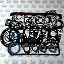 Набор прокладок для ремонта двигателя Д-240 трактор МТЗ Премиум (корпусные прокладки кожкартон TEXON), фото 3