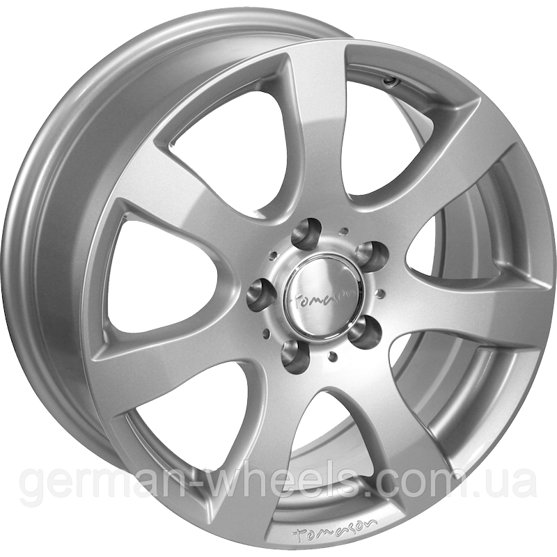 "Диски от Tomason ( Томасон ) модель TN3F цвет Silver painted параметры 6,5J x 16"" PCD 6 x 130 ET 62"