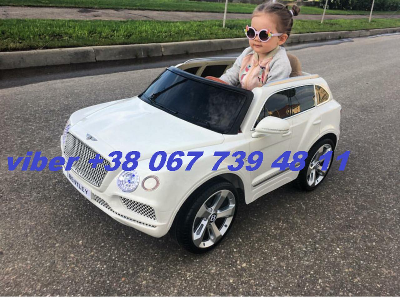 электромобиль бентли детский