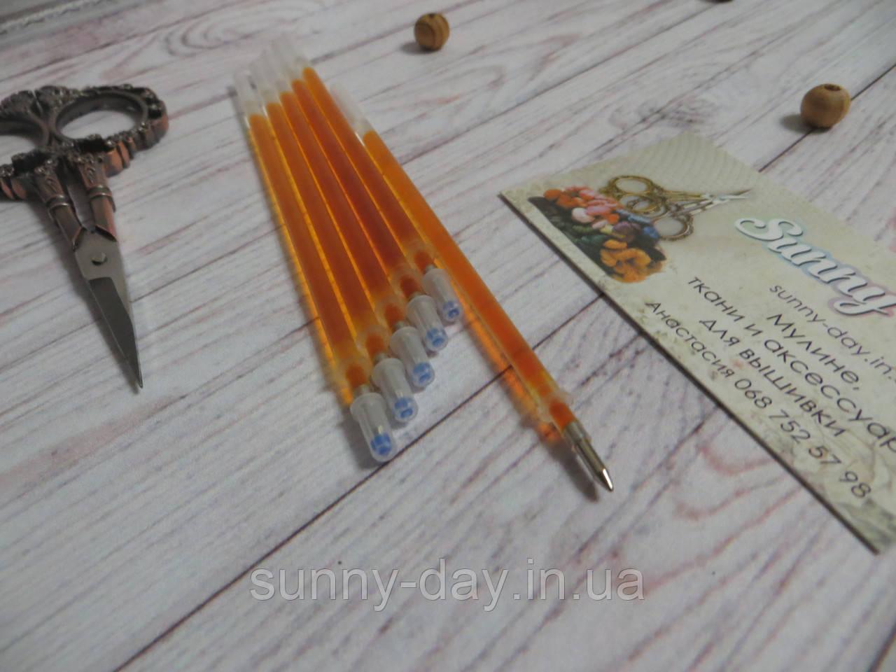 Стержень для разметки канвы оранжевый, 0,7мм