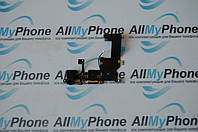 Шлейф для мобильного телефона Apple iPhone 5 коннектора зарядки / коннектора наушников с компонентами черный