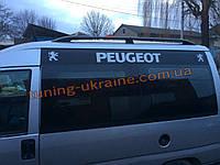 Рейлинги Черные тип Premium на Renault Kangoo 1998-2008 длинная база