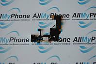 Шлейф для мобильного телефона Apple iPhone 5 коннектора зарядки / коннектора наушников с компонентами белый