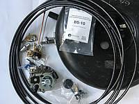 ГБО-2 на карбюратор Solex,баллон под запаску Б/У.(магистраль медь/редуктор Tomasetto)