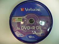 VERBATIM DVD-R 8,5Gb DL (kake box 10)