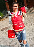 Рюкзак женский городской школьный Werin набор