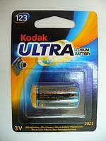 KODAK ULTRA CR123 LITHIUM BATTERY
