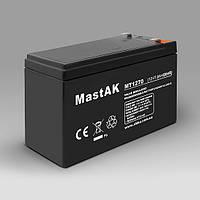 Герметичный свинцово-кислотный аккумулятор MASTAK MT1270 VRLA/SLA