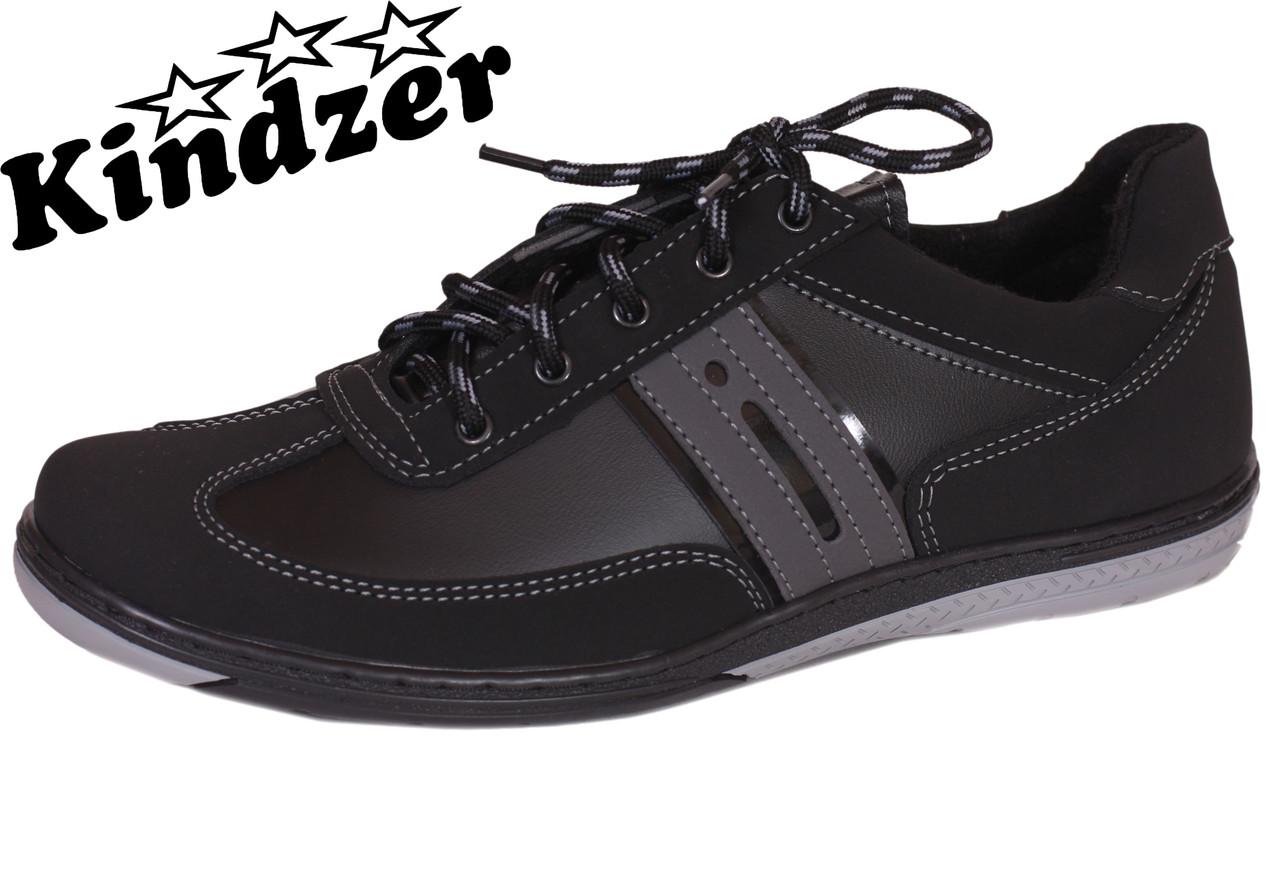 Туфли спорт Kindzer T23 Black&Grey