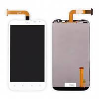 Дисплей (экран) для HTC X315e Sensation XL G21 + с сенсором (тачскрином) белый