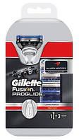 "Картридж Gillette ""Fusion PROGLIDE"" (4) + ручка в ПОДАРОК"