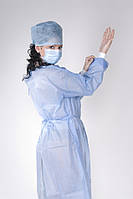 Одноразовый хирургический комплект №1 стерильный (с халатом)