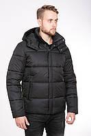 Зимняя мужская курточка со съёмным капюшоном