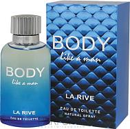 Туалетная вода для мужчин La Rive Body Like 100ml