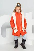 Зимняя куртка для девочки Разные цвета