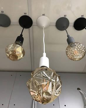 Декоративный подвес для LED лампы SL-072 V-образный Е27 белый Код.58964, фото 2