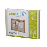 Baby Art  Деревянная настенная рамка Baby Tiny Touch - Натуральная