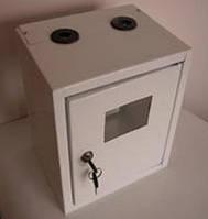 Ящик (бокс) газовый белый