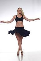 Тренировочная юбка латина на кулисках