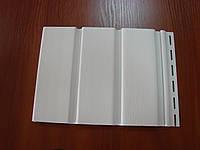 Панель софит белый Будмат / BudMat 3 м , 0,918 м2 сплошной  Польша