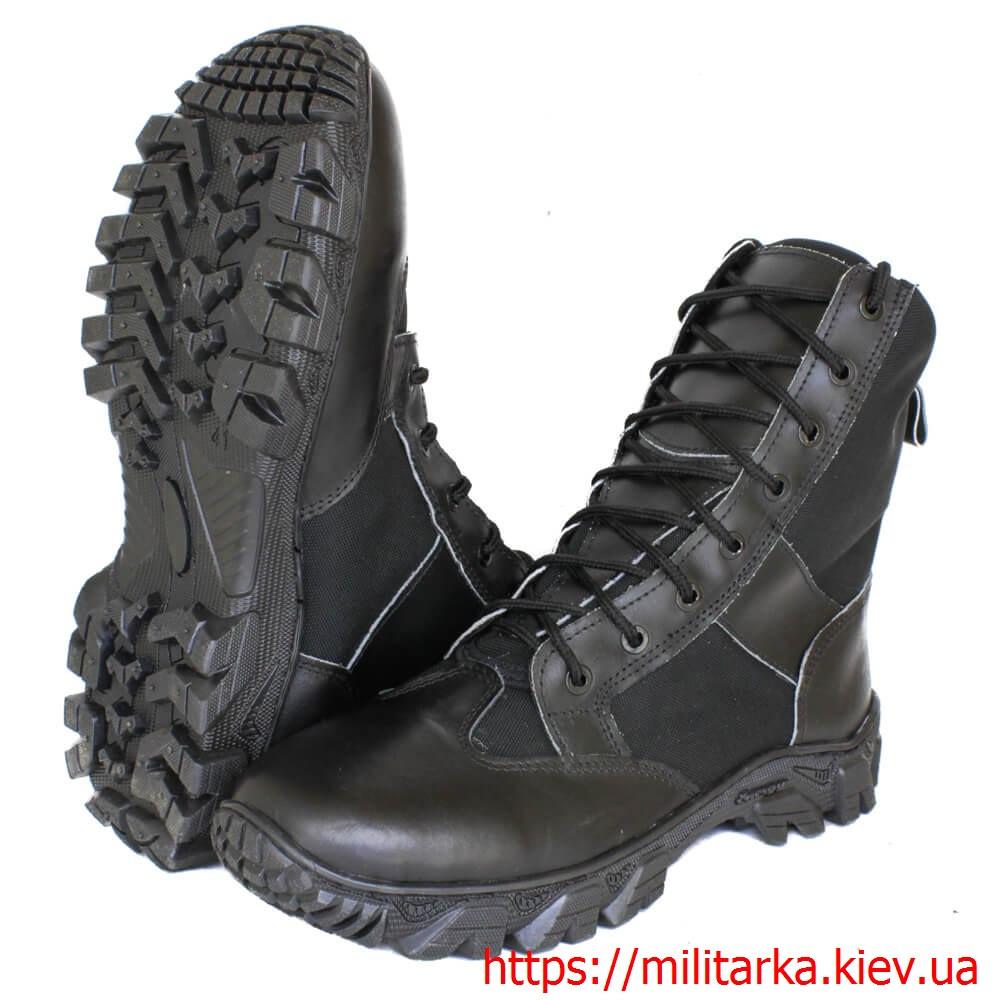 Милитарка™ ботинки летние Кочевник черные