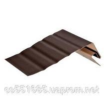 Фаска для софита Альта-Профиль, коричневый 3,66м
