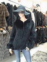 Полушубок из вязаной норки 089 шт