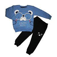 Костюм для мальчика 2-5лет (98-110) кофта+штаныарт.17508