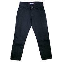 Штаны для мальчиков черные 5-8лет(110-128) арт.6740,2
