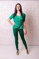 Лосины Losinelli женские зеленый В00173  , фото 1