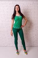 """Лосины Losinelli """"Эластик"""" женские зеленый В00174, фото 1"""