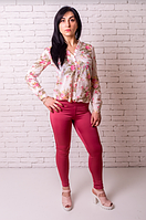 Лосины Losinelli женские розовый В00175  , фото 1