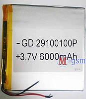 Аккумулятор универсальный 6000mA/ч (100*100*2.9) 29100100