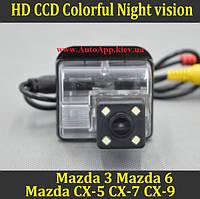 Камера заднего вида (Sony CCD) для Mazda 3 2004 2005 2006 2007/ Mazda 6 2002 2003-2008 CX-5 CX-7 CX-9