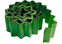 Бордюр садовый, 15 х 900 см, зелёный// PALISAD