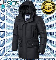 Мужская куртка Braggart Dress Code - 2606#2605 графит